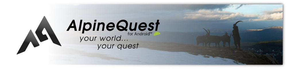 Create your On-board Maps - AlpineQuest